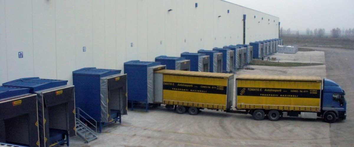 Bennet: area di consegna delle merci