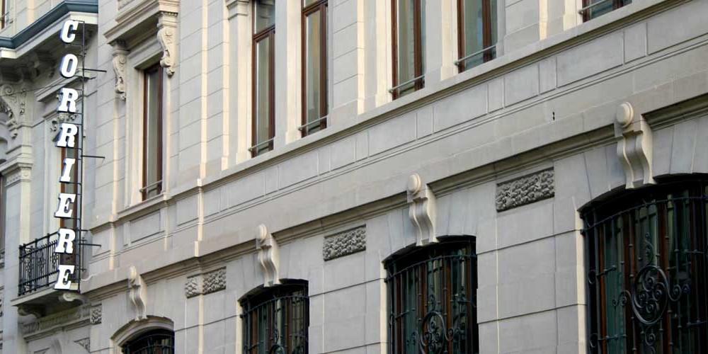 La Sede del Corriere della Sera, Milano