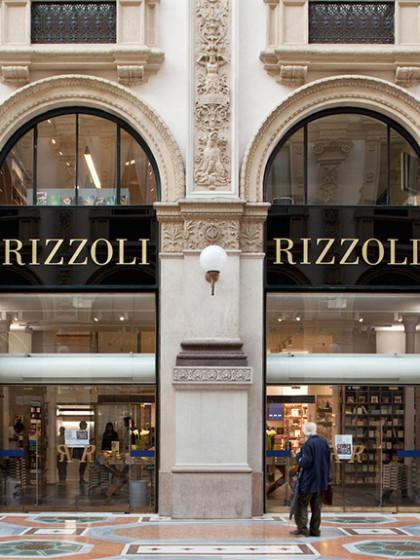 Negozio Rizzoli Galleria Vittorio Emanuele